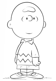 charlie brown coloring free printable coloring pages