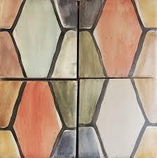 handmade terracotta tile tabarka studio