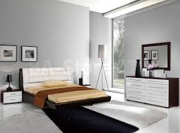 Modern Bedroom Furniture Atlanta Furniture Brown And White Modern Bedroom Furniture Including
