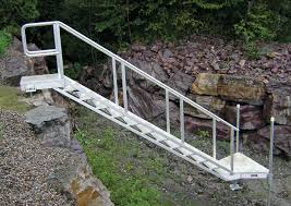 some types aluminum stairs u2014 railing stairs and kitchen design