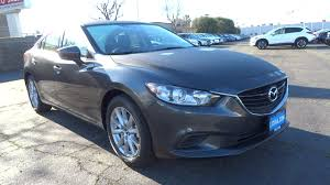 mazda sedan new 2017 mazda mazda6 sedan machine gray for sale in fresno ca