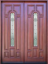 Double Glazed Wooden Front Doors by Front Doors Oak Upvc Double Glazed Front Doors Mahogany Solid