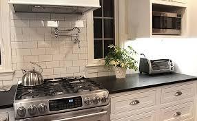 Black Granite Countertops Backsplash Ideas Granite by Black Kitchen Tiles Ideas U2013 Quicua Com