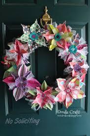 Diy Wreaths Best 25 Paper Wreaths Ideas On Pinterest Flowers With Paper