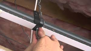 Drop Ceiling Track Lighting Griplock Hx T Clip Bai T Bar Clip Overview And Installation Guide