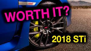 2015 wrx sti aftermarket wheel why i u0027m not buying a 2018 subaru sti youtube