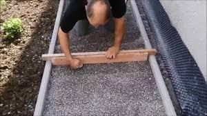 Garageneinfahrt Am Hang Gehweg Bauen Und Isolierplatten Kleben Youtube