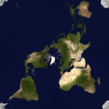 Peters Projection World Map by Dymaxion Map Telemachus Unedited