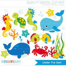 underwater animals clipart u2013 101 clip art