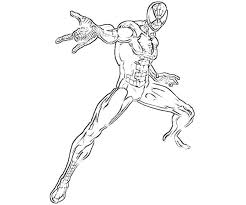free ultimate spider man coloring pages coloring download