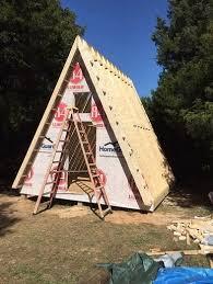 simple a frame house plans 14 x14 tiny a frame cabin plans by lamar lamar
