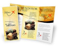 sided tri fold brochure template sided tri fold travel brochure template http www