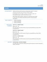Sample Word Document Resume by Simple Resume Templates Basic Resume Templates