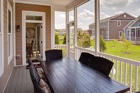 Covered Porch by New Ocean Breeze Home Model At The Reserves Ocean View In De Nvhomes