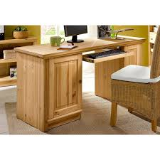 bureau en pin massif bureau informatique en pin massif home affaire pin home affaire