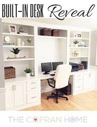 built in desk reveal desks built ins and room built in desk reveal