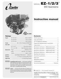carlin ez 1 2 3 user manual 28 pages