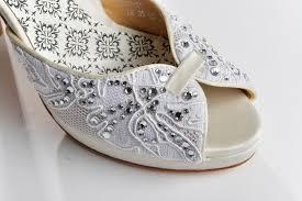wedding shoes embellished heel wedding shoes vintage inspired bridal heels ivory lace