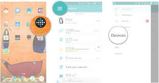 how to app on android how to add replace and delete trackers in the fitbit app