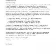 best legal secretary cover letter examples livecareer traditional