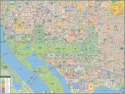 Washington Metro Map by Washington Dc Downtown Map Digital Creative Force
