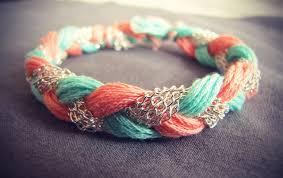 Rag Rug Bracelet My Sample Diy Easy Bracelet