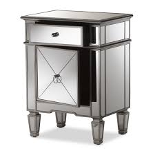 furniture night stand ikea mirrored side table target
