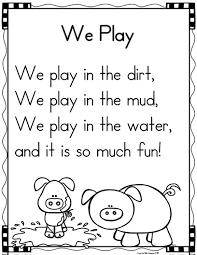 fun thanksgiving poems mrs mcginnis u0027 little zizzers poetry shared reading in kindergarten