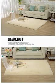 Kids Carpets Long Plush Slip Resistant Soft Mat For Room Modern Large Shaggy