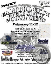 7 Flags Event Center Des Moines Capitol City Cycle Show U0026 Swap Meet