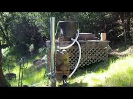 Diy Tent Wood Stove Proto 1 Youtube - rocket tub pt5 firing it up full scale youtube