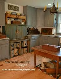 Primitive Kitchen Cabinets 505 Best Primitive Kitchens Images On Pinterest Cottage