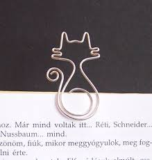 How To Make Jewelry Out Of Wire - mirr murr cat wire bookmark my wire bookmarks pinterest
