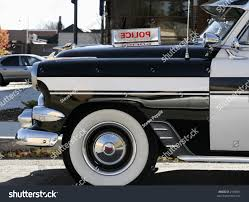 old cars black and white black white police car 1950s stock photo 2108601 shutterstock