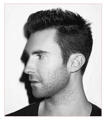 mens short parted hairstyles together with cool men short hair