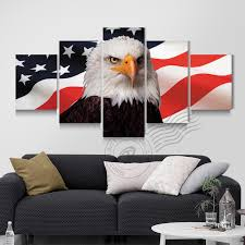 American Flag Living Room by Online Get Cheap American Eagle Paintings Aliexpress Com