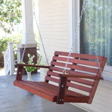 bench hanging bench lehigh recycled plastic porch swing porch