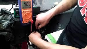 comprobación del sensor de posición del pedal de aceleración de