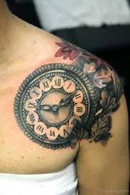 cracked clock on chest designs