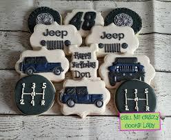 jeep logo cake birthday boy u2014 call me crazy cookie lady