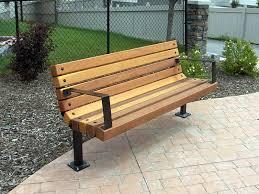 patio bench plans step halicio