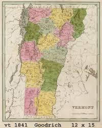 Map Of Vt Vermont Maps