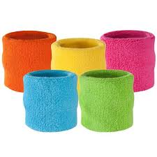 sweat bands neon wrist sweatbands bright cotton wristbands suddora