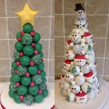 christmas cake pop tree love this wedding favors ideas