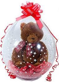 teddy in a balloon gift stuffed balloon ballomer stuffed balloons info board