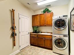 Laundry Room Cabinets With Hanging Rod Laundry Room Layouts Pictures Options Tips Ideas Hgtv