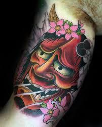 hannya mask samurai tattoo 100 hannya mask tattoo designs for men japanese ink ideas