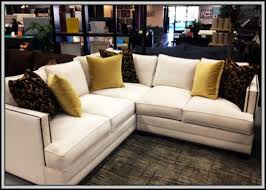 Living Room Stylish Muse Signature Leather Sectional Couches San - Home furniture san diego