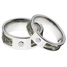 his and camo wedding rings diamonds grit camo wedding ring sets with real diamonds camo