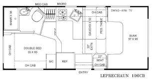 Coachmen Class C Motorhome Floor Plans New Coachmen Rv Leprechaun 190cb Chevy 4500 Motor Home Class C For